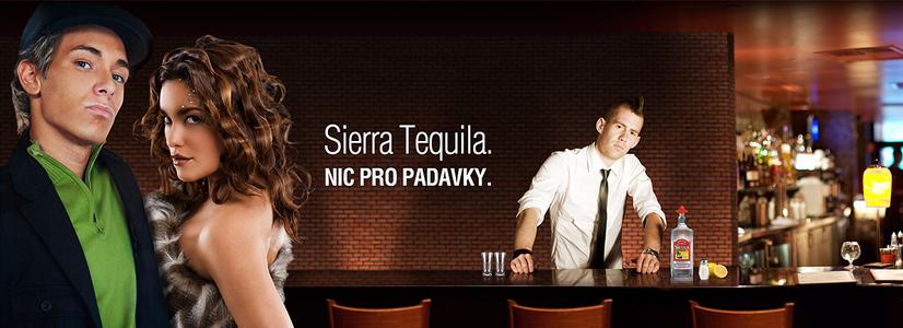 Tvorba webu Sierra Tequila